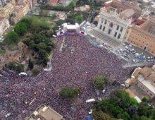 1° maggio, a San Giovanni anche la maratona. E metro aperte fino all'1.30 di notte