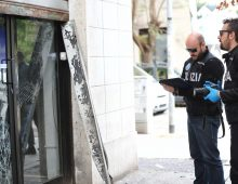 Via Amulio: esplosione alla sede degli Irriducibili Lazio