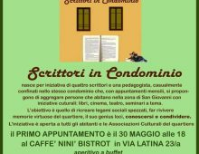 "Via Latina: ""Scrittori in condominio"""