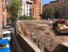 Iniziati i lavori nell'area di via Cesena: sarà verde pubblico?