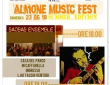 Caffarella: Almone Music Fest (summer edition)