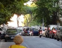 Blackout all' Appio Latino: traffico in tilt e neanche un vigile ai semafori spenti