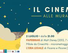 """Il Cinema alle Mura parte con """"L'ora legale"""""""
