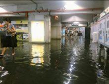 Nubifragio a Roma: chiusa nella serata di ieri la fermata della metro Colli Albani