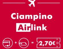 Ciampino Airlink: oltre 150mila visitatori nei primi sei mesi