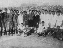 Motovelodromo Appio, 25 settembre 1927. La prima partita in massima serie della Roma