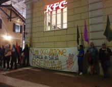 Alberone: manifestazione a favore dei Curdi