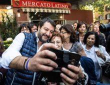 Piazza Epiro: Salvini incontra i cittadini al mercato