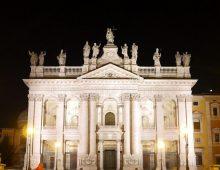 San Giovanni in Laterano: nuova illuminazione per la Basilica