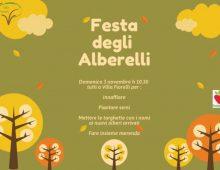 Villa Fiorelli: la festa degli alberi