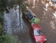 Municipio VII: bomba d'acqua, allagamenti e strade chiuse