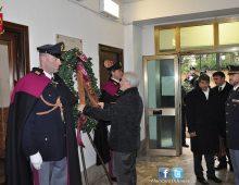 Colli Albani: commemorazione del maresciallo PS Domenico Taverna