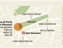 Domani sardine in piazza San Giovanni: disagi tra bus deviati e strade chiuse