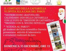 Emozioni in Caffarella, la distribuzione gratuita del calendario