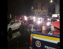 Roma, bomba d'acqua: metro A allagata e strade sommerse all' Appio Tuscolano