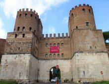 Museo delle mura in porta S Sebastiano – visita guidata