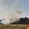 Incendio al parco della Caffarella, chiusa nel pomeriggio