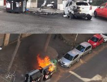 Municipio VII: dati alle fiamme 10 cassonetti in 20 minuti