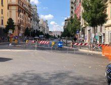 Olio su asfalto: chiusa via Albalonga