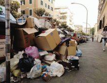 Appio Tuscolano: torna l'emergenza rifiuti