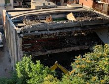 Via Michele Amari: demolito un altro pezzo di storia del quartiere