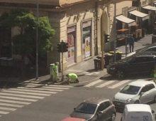 Via Taranto chiusa verso San Giovanni