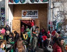 Stazione Tuscolana: lo spazio sociale Scup sotto sgombero