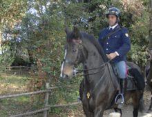 Caffarella: nel parco arriva la polizia a cavallo