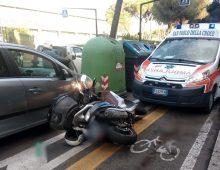 Ciclabile Tuscolana ancora protagonista: due ragazzi investiti da un motociclista