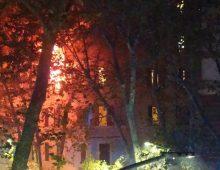 Via Satrico: incendio in un appartamento: muore una donna