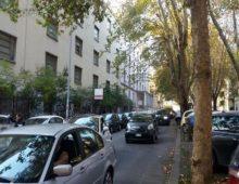 Via Cerveteri: uomo si accascia al volante, salvato dagli agenti accorsi sul luogo