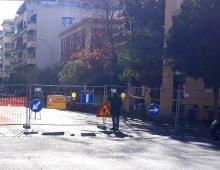 Voragine via Baccarini: aggiornamenti
