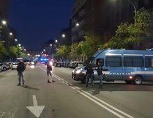 Via Taranto: sgombero della sede occupata da Forza Nuova