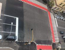 L'incrocio più assurdo del quartiere a via Taranto