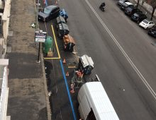 """Via Monza, continua il """"disastro"""": più che dimezzati i parcheggi"""