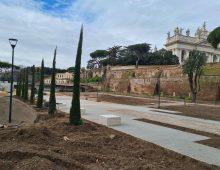 Via Sannio: quasi ultimati i lavori per la nuova area (quasi) verde