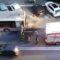 Via La Spezia senza pace: a fuoco un bus, traffico ancora in tilt