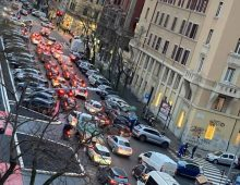 Via La Spezia, via Taranto: nuova viabilità, traffico impazzito
