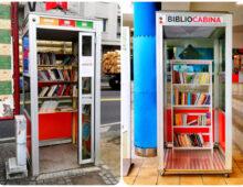 Bibliocabine: come riutilizzate le cabine telefoniche dell'Appio Tuscolano