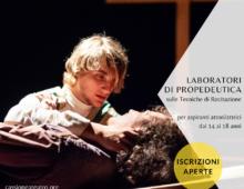 Cassiopea: laboratori di teatro e cinemaper aspiranti attori dai 14 ai 18 anni