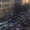 San Giovanni, ancora un pomeriggio di paralisi del traffico