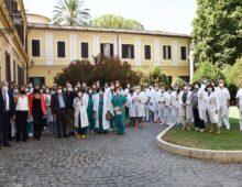 L'assessore D'Amato visita l'ospedale San Giovanni