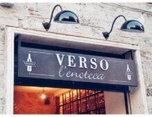 "L'enoteca ristorante ""Verso"" in via Taranto"