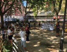 Flash mob per il deposito di piazza Ragusa
